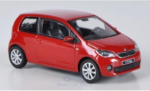 Skoda Citigo 1/43 Abrex rouge 2012 3-Türer miniature