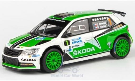 Skoda Fabia 1/43 Abrex III R5 No.1 Rallye Bohemia 2015 J.Kopecky/P.Dresler miniature