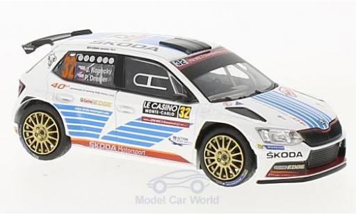 Skoda Fabia 1/43 Abrex III R5 No.32 Rallye WM Rallye Monte Carlo 2017 J.Kopecky/P.Dresler miniature