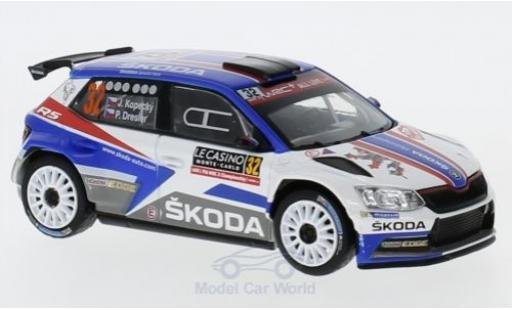 Skoda Fabia 1/43 Abrex III R5 No.32 Rallye WM Rallye Monte Carlo 2018 J.Kopecky/Dresler miniature