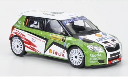 Skoda Fabia 1/43 Abrex S2000 No.1 Rallye Barum 2010 miniature