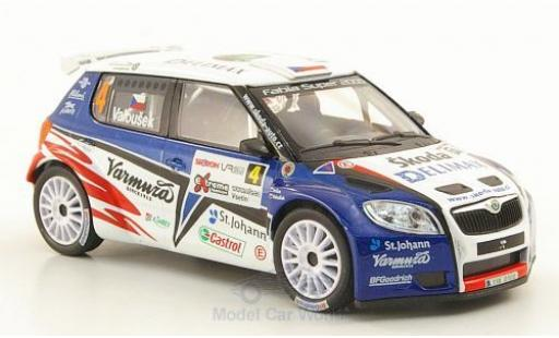 Skoda Fabia 1/43 Abrex S2000 No.4 Delimax Rally Valasska 2010 miniature