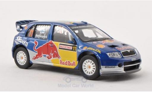 Skoda Fabia WRC 1/43 Abrex Evo II No.11 Red Bull Rally Türkei 2006 miniature