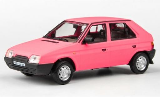 Skoda Favorit 1/43 Abrex 136L matt-rose 1988 miniature