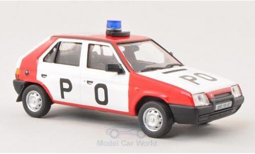 Skoda Favorit 1/43 Abrex P O 1987 (Tschechische Feuerwehr) miniature