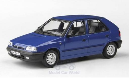 Skoda Felicia 1/43 Abrex 1.3 GLXi blue 1994 diecast model cars
