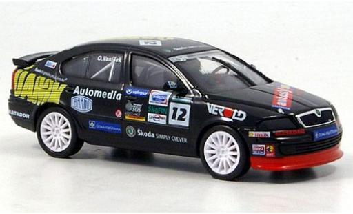 Skoda Octavia 1/43 Abrex Cup No.12 2005 O.Vanisek diecast model cars