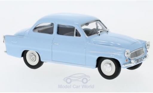 Skoda Octavia 1/43 Abrex bleue 1963 miniature