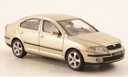 Skoda Octavia 1/43 Abrex metallise beige diecast model cars