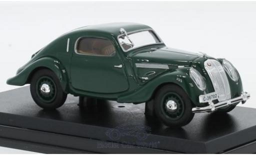 Skoda Popular Sport 1/43 Abrex Monte Carlo verte 1937 miniature