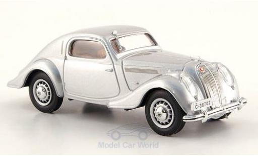 Skoda Popular Sport 1/43 Abrex Monte Carlo grise 1937 miniature