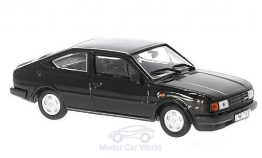 Skoda Rapid 1/43 Abrex 136 noire 1987 miniature