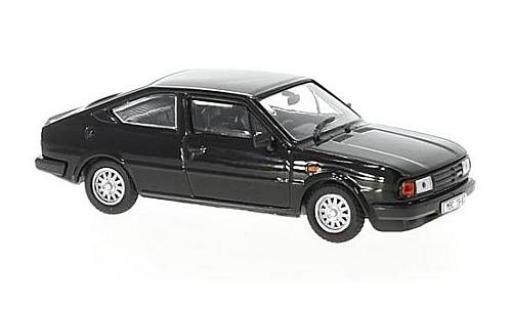 Skoda Rapid 1/43 Abrex 136 noire RHD 1987 miniature