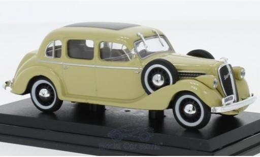 Skoda Superb 1/43 Abrex 913 beige 1938 miniature