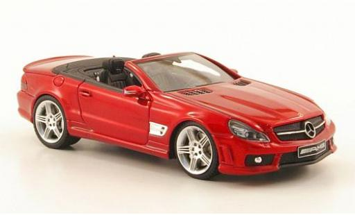 Mercedes Classe SL 1/43 Absolute Hot SL65 AMG rot ouverts/es toit modellautos