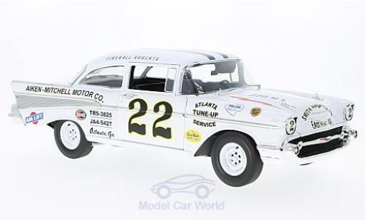Chevrolet Bel Air 1957 1/18 ACME No.22 Nascar Darlington 1957 Fireball-Roberts miniature