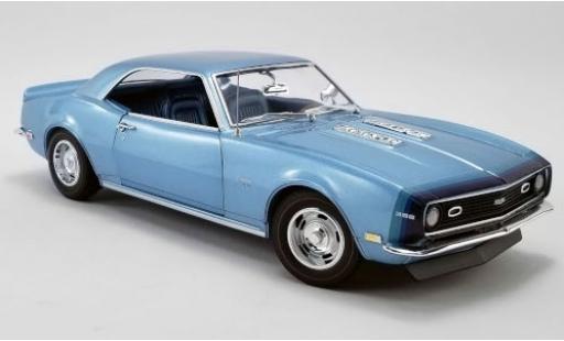Chevrolet Camaro 1/18 ACME SS Unicorn D88 Stripe Option metallise blue 1968 diecast model cars