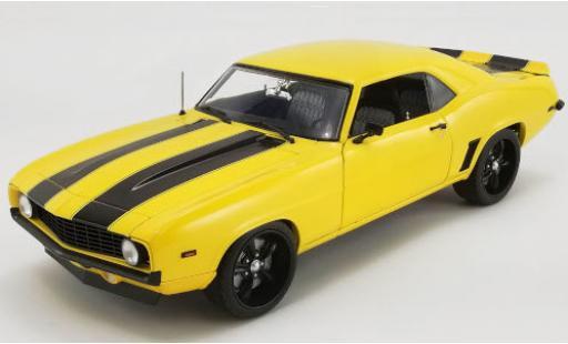 Chevrolet Camaro 1/18 ACME Street Fighter yellow/black 1969 Yellow Jacket diecast model cars