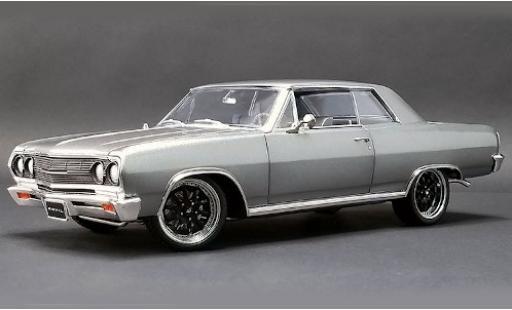 Chevrolet Chevelle 1/18 ACME metallise grey 1965 The Anvil diecast model cars