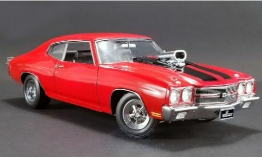 Chevrolet Chevelle 1/18 ACME SS Drag Outlaws rouge/noire 1970 miniature