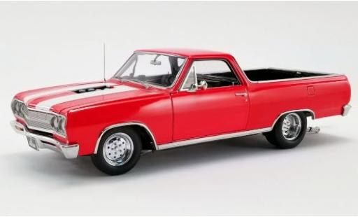 Chevrolet El Camino 1/18 ACME Drag Outlaw rouge/blanche 1965 miniature