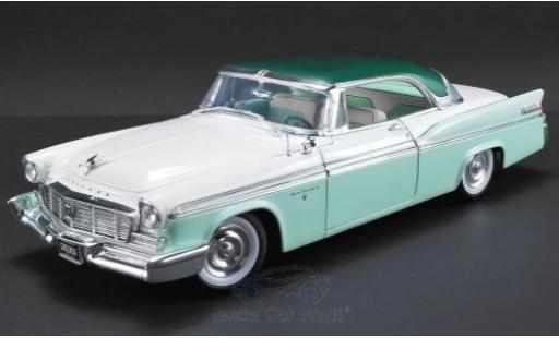 Chrysler New Yorker 1/18 ACME St. Regis verte/blanche 1956 miniature