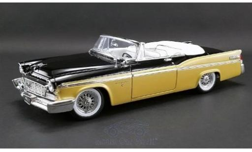 Chrysler New Yorker 1/18 ACME St. Regis noire/gold 1956 miniature