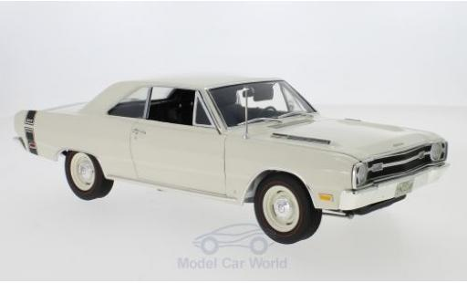 Dodge Dart 1/18 ACME GTS 440 white/black 1969 diecast model cars