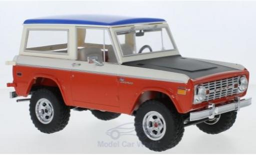 Ford Bronco 1/18 ACME Baja Bill Strope Edition rouge/blanche 1971 miniature