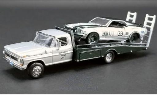 Ford Mustang 1/64 ACME Trans Am No.33 Allan Moffat Racing Trans-Am 1969 mit F-350 Ramp Truck A.Moffat miniature