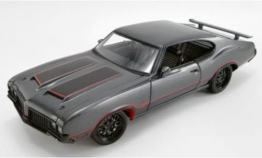 Oldsmobile 442 1/18 ACME W30 Street Fighter metallise anthrazit/matt-black 1970 diecast model cars