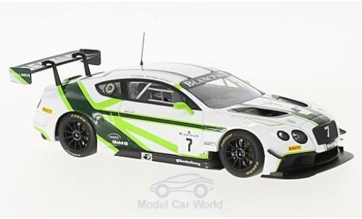 Bentley Continental T 1/43 Almost Real GT3 RHD No.7 Blancpain GT Series 2016 Launch Livery G.Smith/S.Kane/V.Abril modellautos