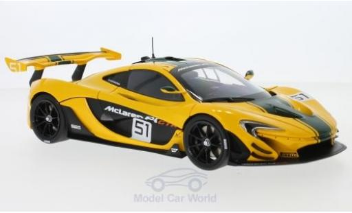 McLaren P1 1/18 Almost Real GTR 2015 miniature
