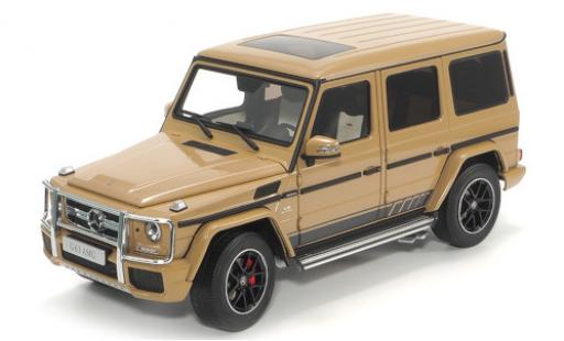 Mercedes CLA 1/18 Almost Real AMG Classe G (W463) 463 Edition beige 2015 diecast model cars