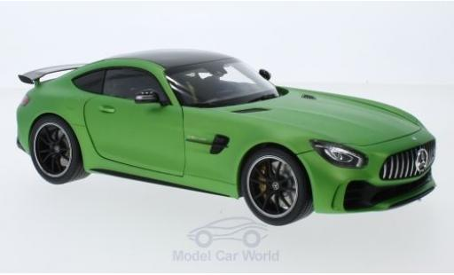 Mercedes AMG GT 1/18 Almost Real R matt-verde 2017 miniatura