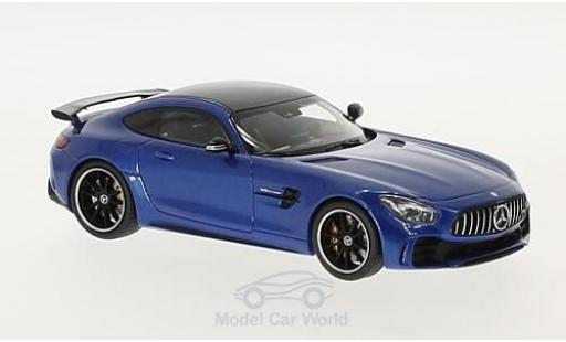 Mercedes AMG GT 1/43 Almost Real R métallisé bleue 2017 miniature