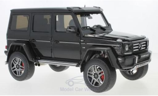 Mercedes Classe G 1/18 Almost Real G500 4x4 noire miniature