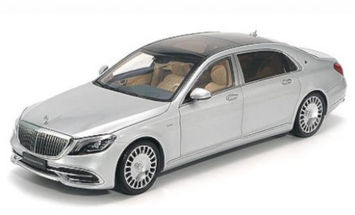 Mercedes CLA 1/43 Almost Real Maybach Classe S grise 2019 miniature