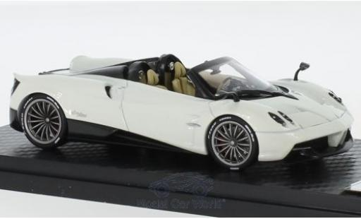 Pagani Huayra 1/43 Almost Real Roadster blanche 2017 miniature
