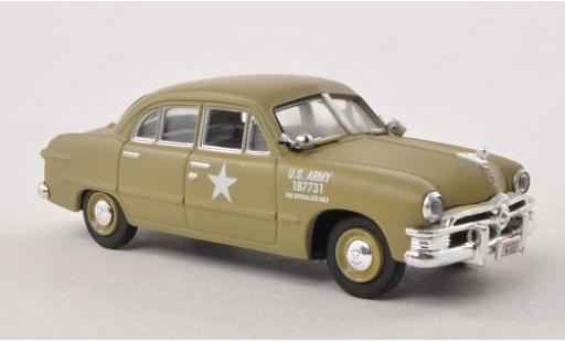 Ford Custom 1/43 American Heritage Models 4-Door Sedan 1950 Army Staff Car miniature