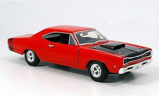 Dodge Coronet 1/24 American Mint/Motormax Super Bee red/black 1969 diecast model cars