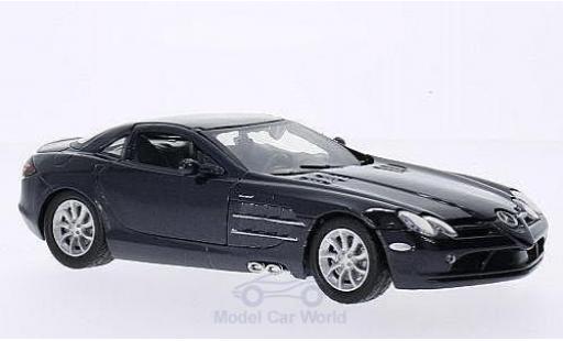 Mercedes SLR 1/24 American Mint/Motormax McLaren metallise grise miniature