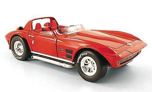 Chevrolet Corvette 1/18 American Mint/Yat Ming Grand Sport rouge 1964