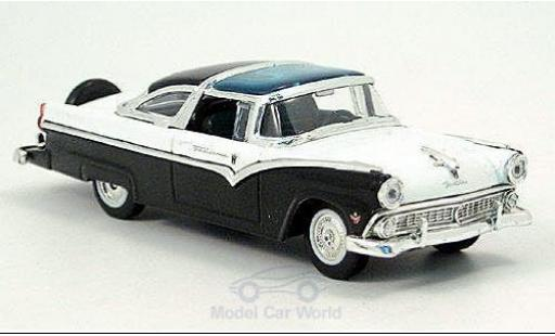 Ford Crown 1/43 American Mint/Yat Ming Victoria blanche/noire 1955 miniature