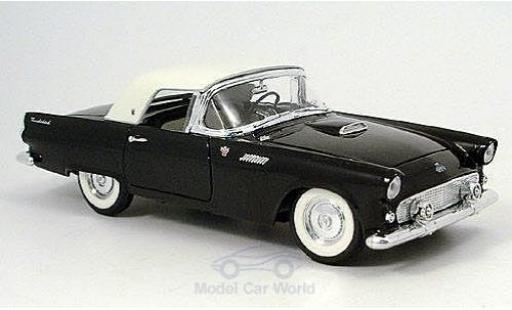 Ford Thunderbird 1955 1/18 American Mint/Yat Ming noire/blanche miniature