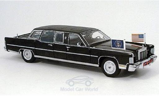 Lincoln Continental 1/24 American MintYat Ming Reagan Car 1972 US-Standarten liegen bei modellautos