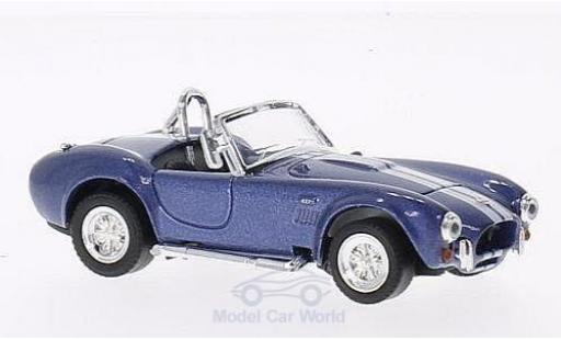 Shelby Cobra 1/43 American Mint/Yat Ming 427 S/C metallise bleue/blanche 1964 miniature