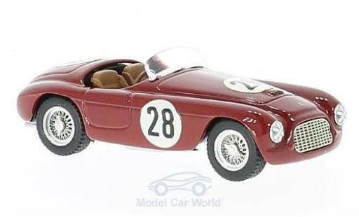 Ferrari 166 1/43 Art Model MM Barchetta RHD No.28 GP Portugal 1962 C.Biondetti miniature