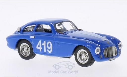 Ferrari 166 1953 1/43 Art Model MM Coupe No.419 Targa Florio G.Musitelli/F.Musitelli diecast model cars