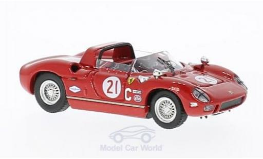 Ferrari 330 P 1/43 Art Model RHD No.21 Road America 1967 Chassis: 0816 W.Cooper/D.Drexler miniature